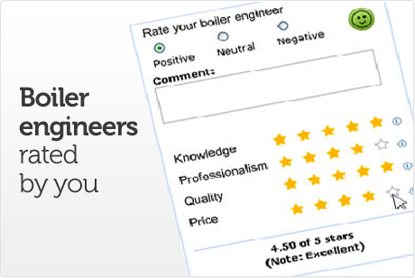 Boiler engineers rated by you